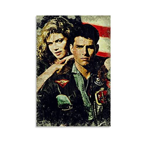 Preisvergleich Produktbild Top Gun Maverick Poster,  dekoratives Gemälde,  Leinwand,  Wandkunst,  Wohnzimmer,  Poster,  Schlafzimmer,  Malerei,  50 x 75 cm