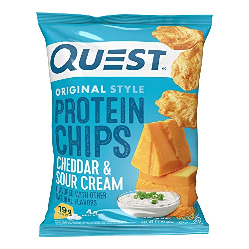 Quest Nutrition Protein Chips, Cheddar & Sour Cream, Pack of 12 from AmazonUs/QUF79