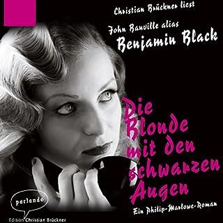 Die Blonde mit den schwarzen Augen Titelbild