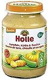 Holle Bio Zucchini, Kürbis & Kartoffeln (6 x 190 gr)