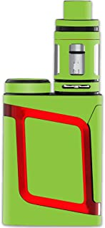 MightySkins Skin Compatible with Smok AL85 Alien Baby Kit – Solid Lime Green | Protective, Durable, and Unique Vinyl Decal wrap Cover | Easy to Apply, Remove, and Change Styles | Made in The USA
