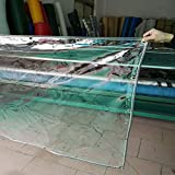 Lona Lona Lona Impermeable De PVC con Ojales, Espesar El Aislamiento Plástico De La Ventana Del Balcón Lonas, Cubierta Impermeable De La Veranda De La Hoja De La Planta (Size : 2.4m×3m)