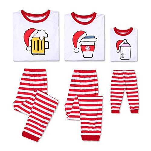 Kerstmis Pyjama Sets Ouder-Kind Pak Familie Bijpassende Kleding Lange Mouw Huiskleding Set Vrouwen Man Baby Jongen Meisje Kerstmis Slaapmode