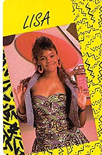 Lisa Turtle trading game card Saved by the Bell #46 Lark Voorhies Size 2x3 inches