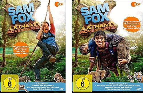 Sam Fox - Extreme Adventures - DVD 1 + 2 (8 Folgen) im Set - Deutsche Originalware [2 DVDs]