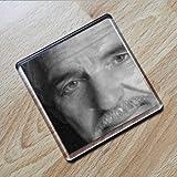 Dennis Farina - Original Art Coaster #js001