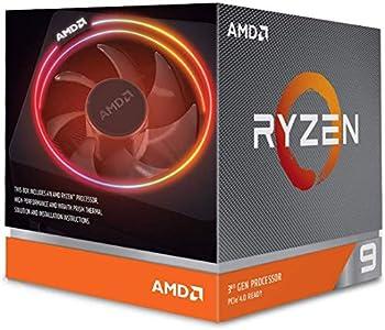 AMD Ryzen 9 3900X 12-core 24-thread unlocked desktop processor with Wraith Prism LED Cooler