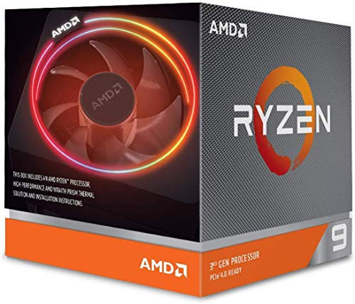 AMD Ryzen 9 3900X with Wraith Prism cooler 3.8GHz 12コア / 24スレッド 70MB 105W【国内正規代理店品】 ...