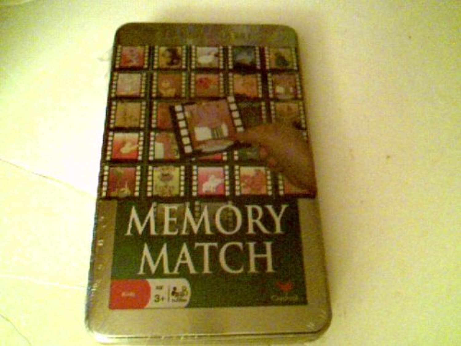 Classic Games - Memory Match (58311) In a Tin by Cardinal B00G1OR1S8 Roman  | Beliebte Empfehlung