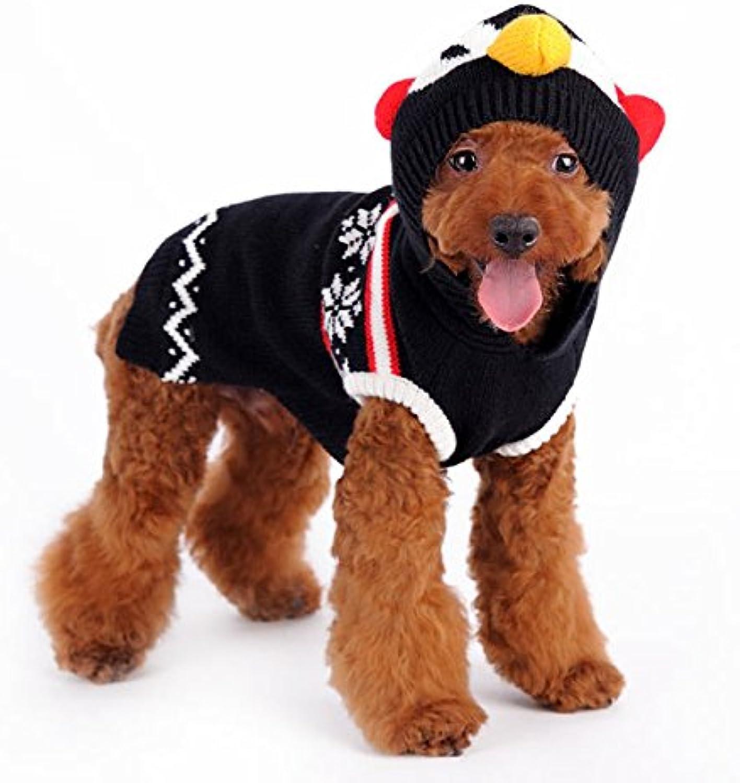 Dogo Penguin Sweater Black (Medium)