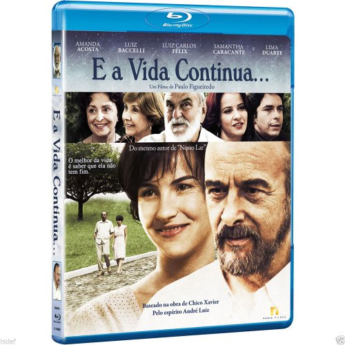 Blu-ray E A Vida Continua [ Chico Xavier ] [ Subtitles in English + Spanish + Italian + Portuguese ] [ Region ALL ]