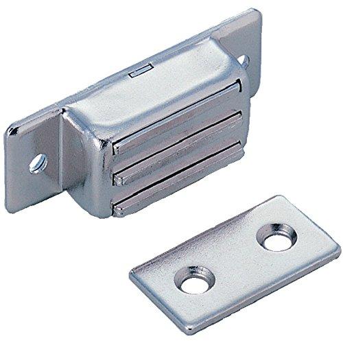 トラスコ TRUSCO マグネットキャッチ アルミ製 縦型 50mm 1個=1PK TMC-0083 1個 279-5795