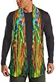 Mysterious - Bufanda de algodón unisex de champiñón, bufanda, clásica, cálida, cómoda bufanda para camping, correr, escalada