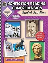 Nonfiction Reading Comprehension: Social Studies, Grade 4: Social Studies, Grade 4