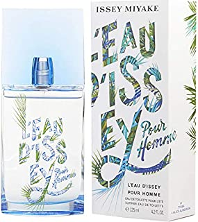 L'eau D'issey Summer By Issey Miyake Edt Spray (edition 2018) 4.2 OZ./ 125 ml.