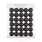 30 Stück Kabelclips mit starkem Selbstklebend, Kabel und Elektroleiter Organizer