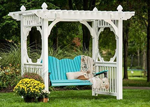 luxcraft Adirondack 5 ft. Plástico reciclado porche Swing: Amazon.es: Jardín