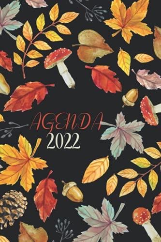 Agenda 2022: Grande Planificador Anual 2022 12 Meses . Día por página . Planificadora semanal diaria y mensual . Planificador Escolar Diario ....