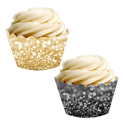Cupcake Wrappers - Choice of Colors/Patterns