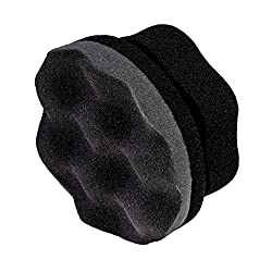 2 Pieces Tire Dressing Applicator Tire Shine Applicator Dressing Pad Tire Cleaner Sponge Large Hex Grip Design for Applying Tire Shine Black Dressing Vinyl Rubber and Trim Accessories