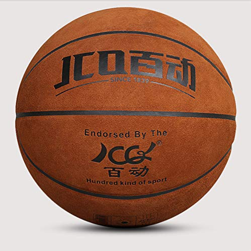 Why Should You Buy WZHCC Basketball, Pure Leather Basketball Indoor and Outdoor Basketball Durable S...