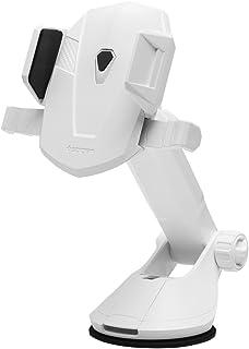 Spigen Kuel Ap12T Araç İçi Telefon Tutucu / Tüm Cihazlarla Uyumlu - White