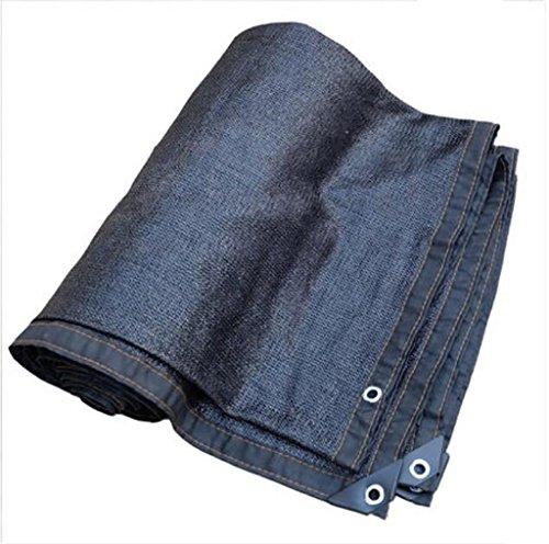Filet d'ombrage, Sun Mesh Shade cryptage épaississement UV résistant net polyéthylène filet d'isolation thermique extérieure, diverses tailles voile de voile parasol (Couleur : A, taille : 4 * 6m)