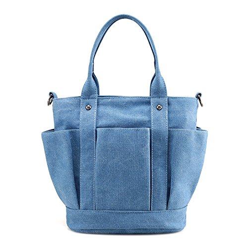 Lkklily-ladies Sac à main Mode Sac à main Leisure Wear et bandoulière, bleu
