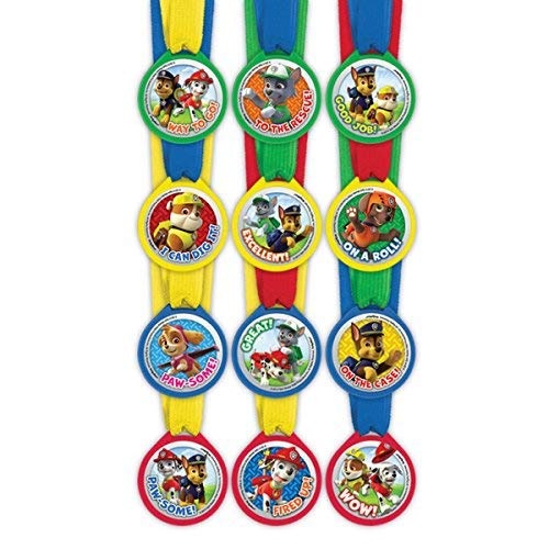 Paw Patrol Mini Award Medaillen, 12 pcs