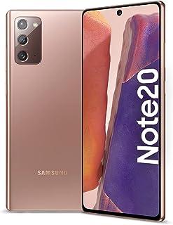 Samsung Galaxy Note20 Dual SIM 256 GB 8GB RAM 5G (UAE Version) - Mystic Bronze - 1 year local brand warranty