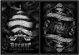 Ellusionist Arcane Black Deck Playing Cards