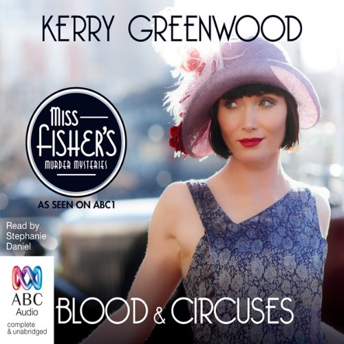 Blood and Circuses audiobook cover art