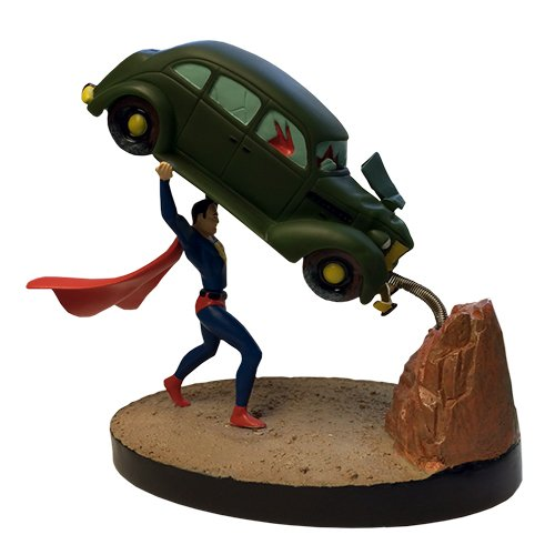 Factory Entertainment nummer 1 Superman Action Comics Premium Motion Statue