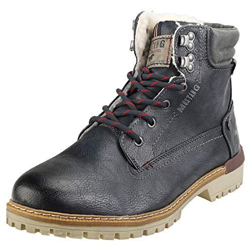 MUSTANG Herren 4142-602 Klassische Stiefel, Blau (Navy 820), 45 EU