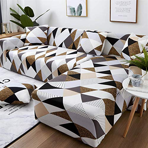 kengbi Durable and Easy-to-Clean Sofa Cover Sofa Cover Elastic Couch Cover sectional Chair Cover It Needs Order 2pieces Sofa Cover if Your Sofa is Corner L-Shape Sofa