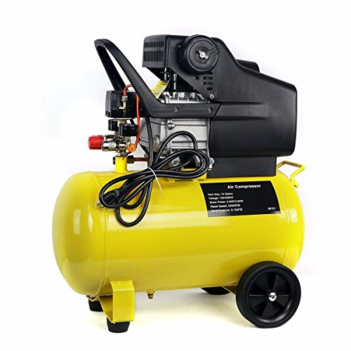 Best Buy! Lotus Analin 3.5 HP Portable Air Compressors Pneumatic Motor 125 PSI Cast Iron 10 Gallon