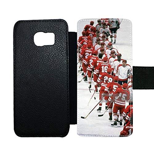 con Hockey 6 Cubre La Ranura para Tarjetas De Soporte Único Usar como Samsung S6 para Hombre Choose Design 68-5