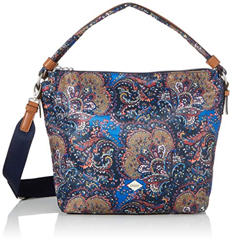 Oilily Damen Picnic Shoulderbag Lhz Schultertasche Blau (nightblue)