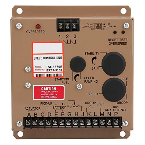 piezas de grupo electrógeno, regulador de velocidad, regulador de velocidad, regulador de velocidad, partes de grupo electrógeno ESD5570E electrónico para grupo electrógeno