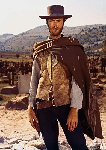Póster de Clint Eastwood - Poncho A2, 59,4 x 42 cm