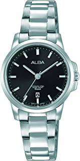 Alba Watch For Women - Casual Watch / Silver , Stainless Steel - Ah7M09X1