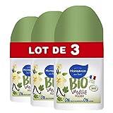 Monsavon Desodorante Bio redonda vainilla higo 50ml–juego de 3