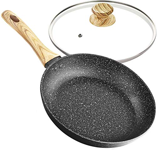 8 Inch Frying Pan with Lid