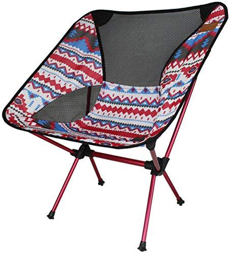 CWT - Silla de camping, ultraligera, plegable, duradera, portátil, compacta, para viajes, playa, picnic, senderismo, pesca (color: plata)