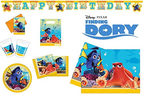 Grande ricerca di Nemo 2 ritrovamenti Dorie Alla ricerca di Dory pesce Geburtstagsset Set di compleanno A