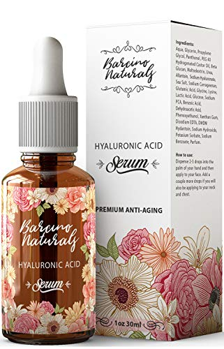 Serum Facial Acido Hialuronico Puro 100% Antiedad Natural Suero Hidrat