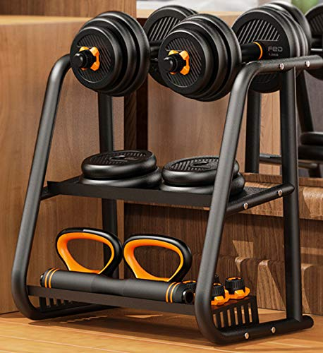 FEIERDUN Dumbbell Rack Weight Rack for Dumbbells Strength Training Organization and Storage