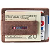 Best Slim Wallets - Alpine Swiss Harper Mens RFID Slim Front Pocket Review