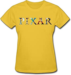 PASSION Women's Pixar T-shirt Black