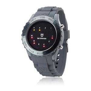 Detomaso DT2016-D_grau-43mm – Reloj analógico de Cuarzo para Hombre,
